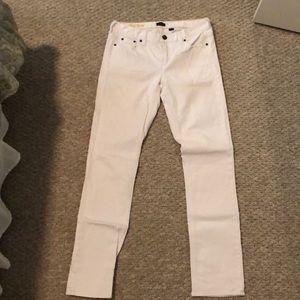 J Crew White Jeans